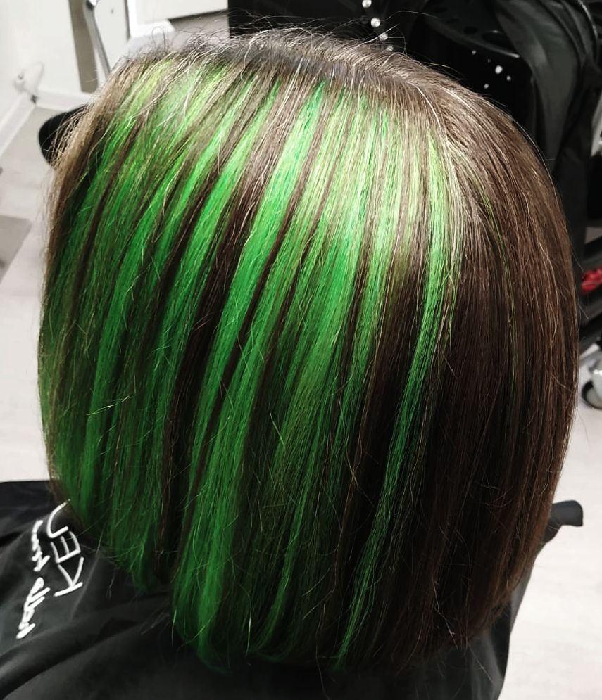 Grüne Highlichts